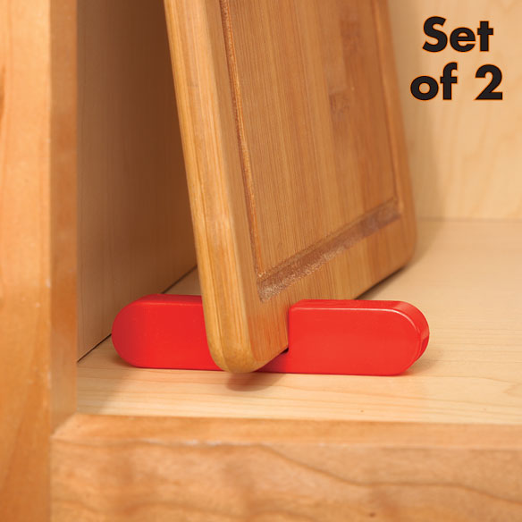 Plastic Cutting Board Rack - Set of 2