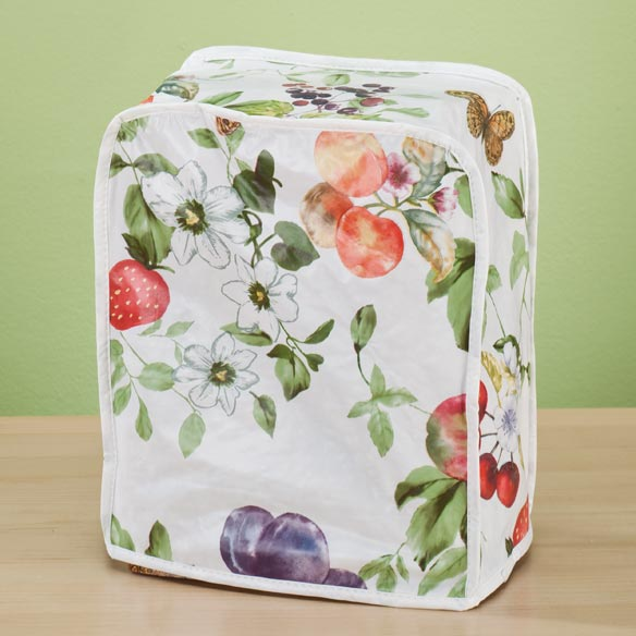 Summer Floral Vinyl Appliance Cover - Can Opener