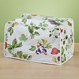 Decorative Counter - Floral 2 Slice Toaster Cover
