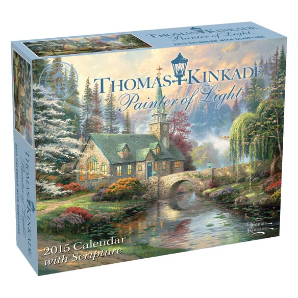 Thomas Kinkade 365 Day Scripture Desk Calendar