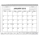 Table Calendars - 3 Year Calendar Diary 2013-2015