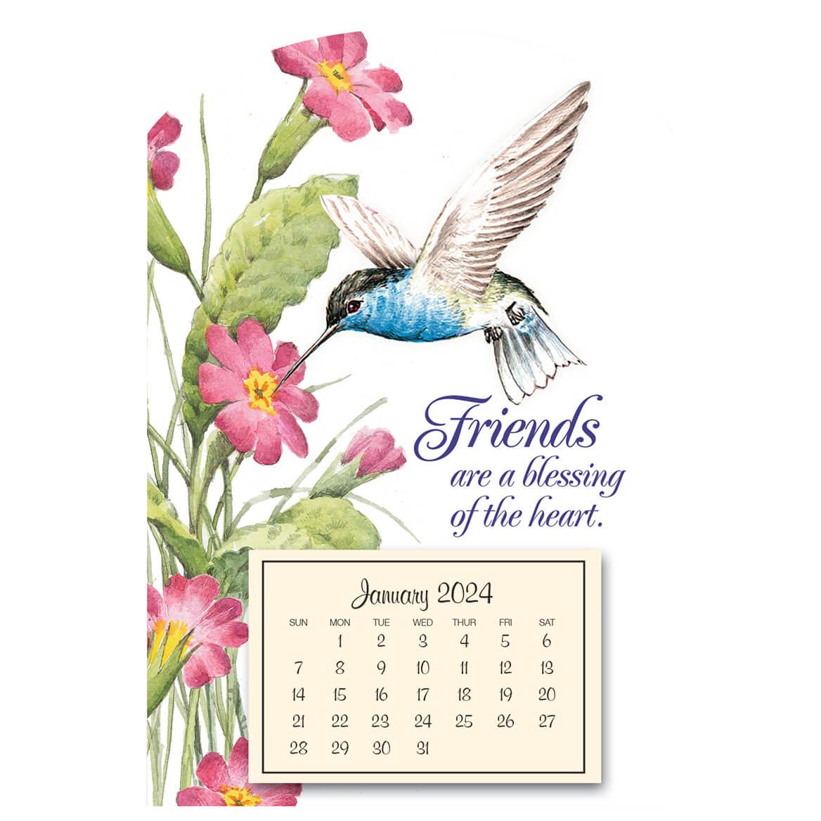 Mini Magnetic Hummingbird Calendar-338798