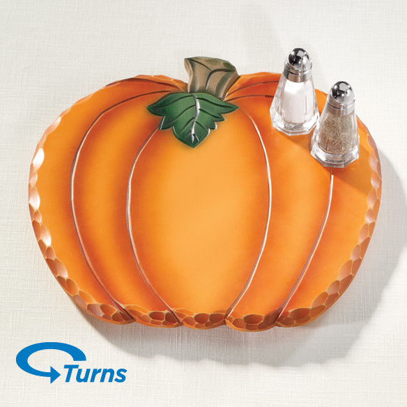 Pumpkin Lazy Susan