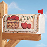 Apple Basket Garden Flag & Mailbox Cover