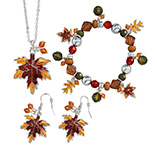 View All Jewelry & Keychains - Autumn Leaf Jewelry - Set Of 3