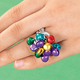 Accessories - Jingle Bell Stretch Ring