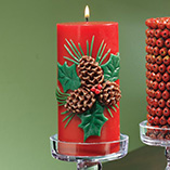 Home Décor - Pine Cone Candle