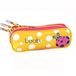 Kids - Personalized Ladybug Pencil Case Set