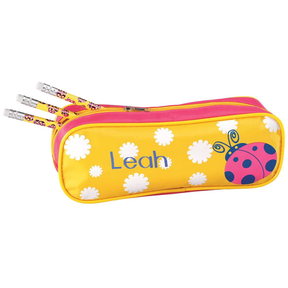 Personalized Ladybug Pencil Case Set Program-339163