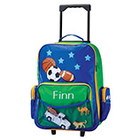 Apparel, Totes & Accessories - Personalized Sports Rolling Luggage