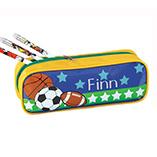 Kids - Personalized Sports Pencil Case Set