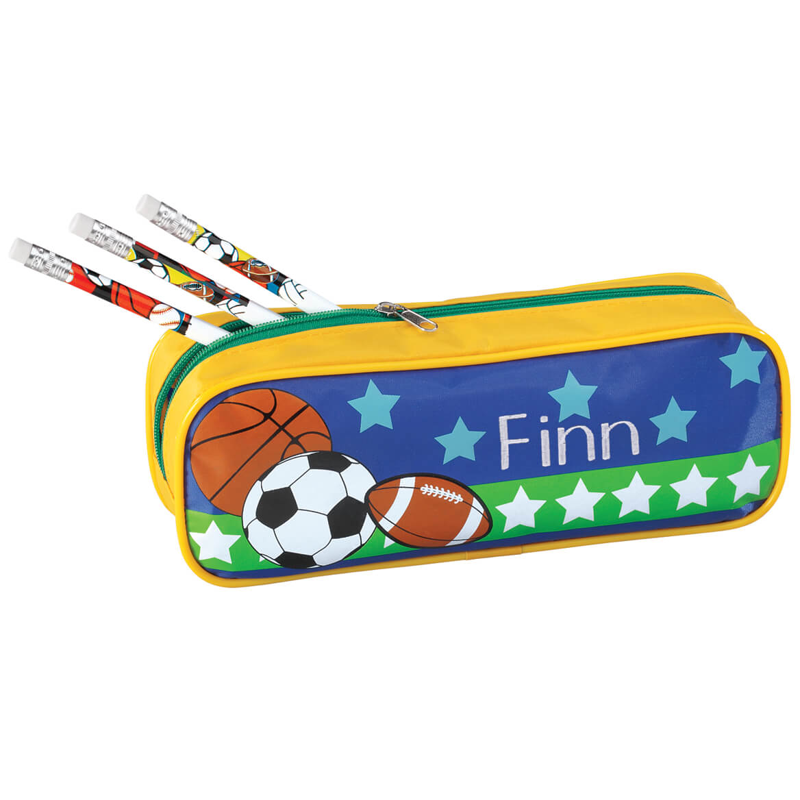 Personalized Sports Pencil Case and Pencil Set-339165
