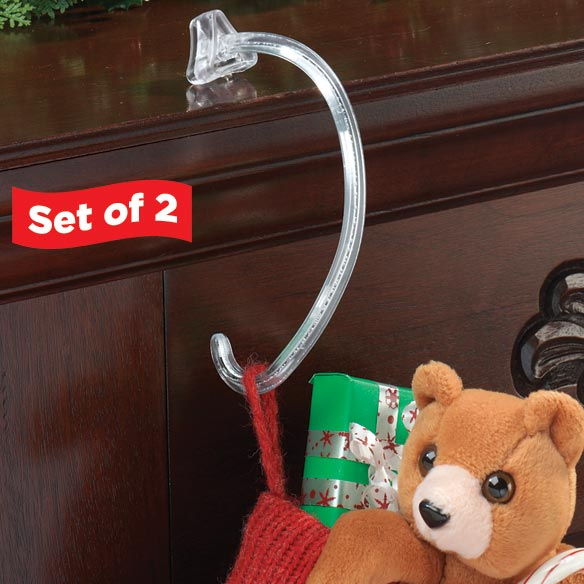 Safety-Grip Stocking Hooks Set of 2