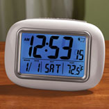 View All Clocks & Decorative Accents - Large Screen Atomic Clock