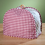 Decorative Counter - Gingham Appliance Cover 2 Slice Toaster