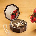 Apparel & Jewelry - Wooden Jewelry Box