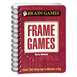 Games & Puzzles - Mini Frame Games