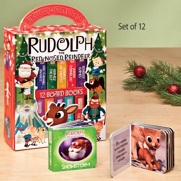 Rudolph the Red-Nosed Reindeer Board Book Set