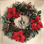 Christmas & Holidays - Poinsettia Wreath