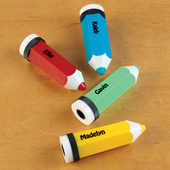 Personalized Pencil Shaped Pencil Sharpener