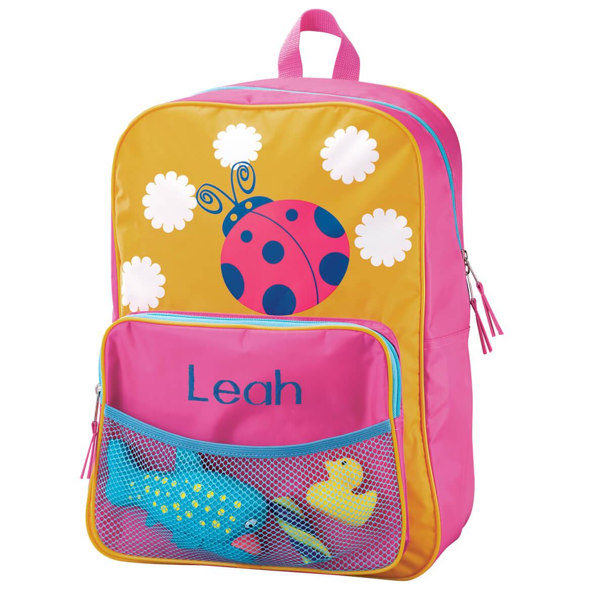 Personalized Ladybug Backpack