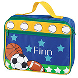 Children's Gifts & Leisure - Personalized Sports Lunchbox