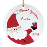 Santa Letters & Childrens Gifts - Personalized Special Grandson Ornament