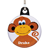 Apparel, Totes & Accessories - Personalized Monkey Zipper Pull