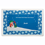 Santa Letters & Childrens Gifts - Personalized Snowman Placemat