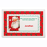 Home - Personalized Santa Placemat