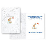 Fawn and Cardinal Unpersonalized Card Set