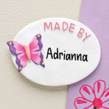 Children's Products - Personalized Butterfly Magnet