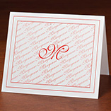 View All - Monogrammed Note Cards