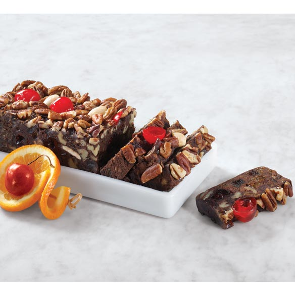 Chocolate Fruit and Nut Cake 16 oz