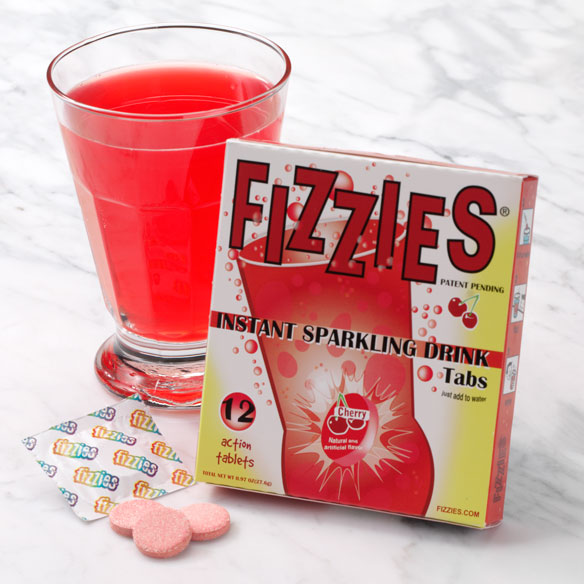 Cherry Fizzies® Drink Tablets