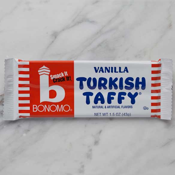 Vanilla Bonomo Turkish Taffy 1.5 oz Bar