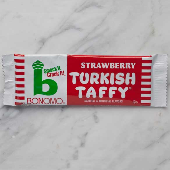 Strawberry Bonomo Turkish Taffy