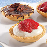 Chocolate - Large Dessert Shells 12/Box