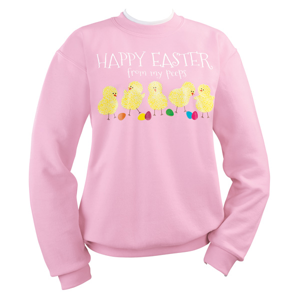 My Peeps Chicks Sweatshirt