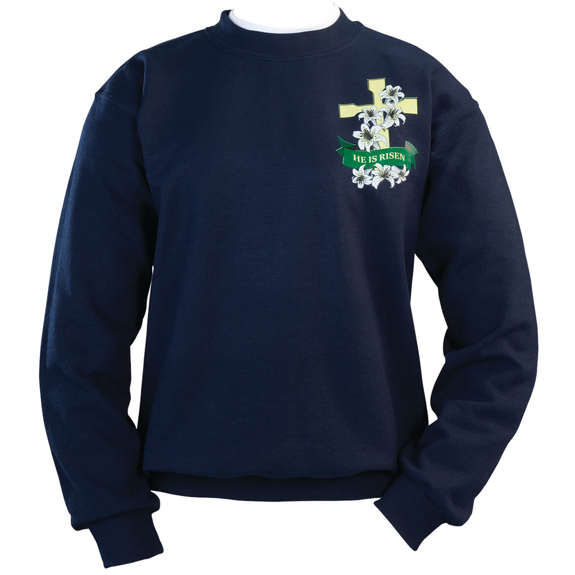 He Is Risen Sweatshirt Small-XXL