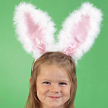 Apparel, Totes & Accessories - Fluffy Bunny Ears