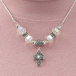 Easter - Cross Necklace
