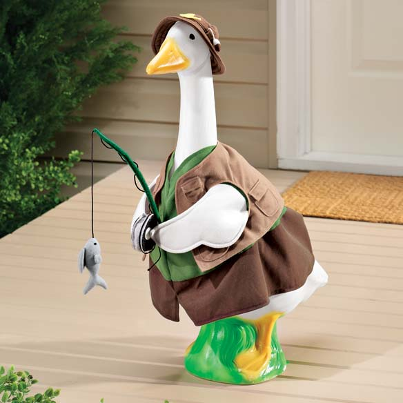 Fisherman Goose Outfit
