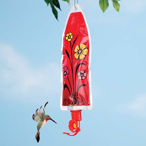 Reusable Hummingbird Feeder