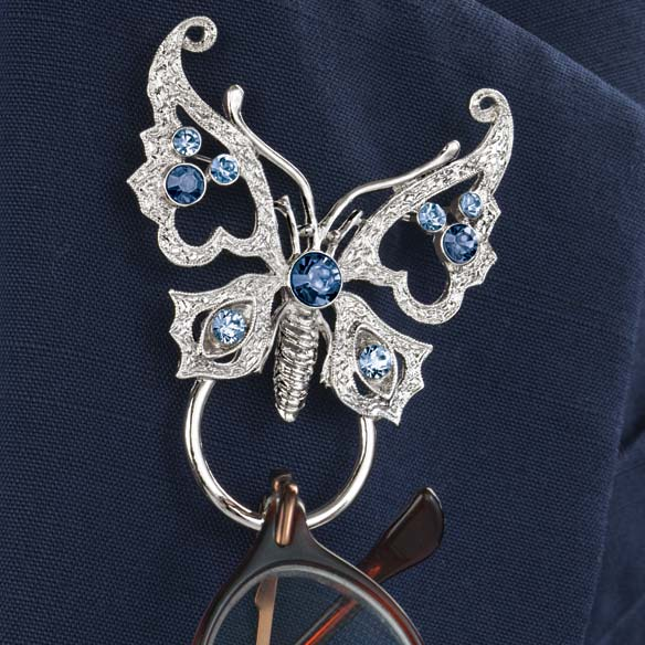 Butterfly Pin Eyeglass Holder