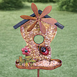 Outdoor, Gardening & Auto - Ladybug Windmill Stake