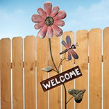 Outdoor, Gardening & Auto - Flower Welcome Stake