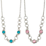 View All Jewelry & Keychains - Silver Mardi Gras Necklace
