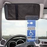 Auto - Handicap Visor Pocket