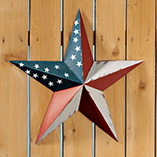 4th of July - American Barn Star